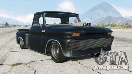 Chevrolet C10 Stepside (C1404) Custom Lowrider for GTA 5