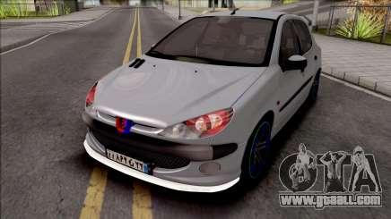 Peugeot 206 Sport for GTA San Andreas