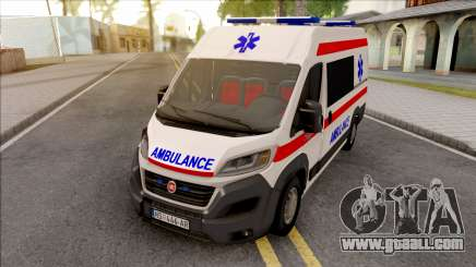 Fiat Ducato 2020 Serbian Ambulance for GTA San Andreas