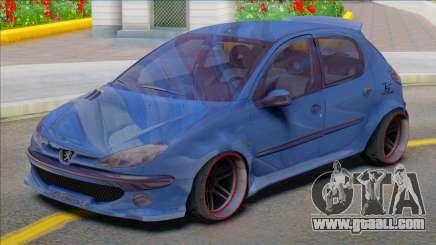 Peugeot 206 Sport Soltan for GTA San Andreas
