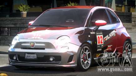 Fiat Abarth Drift L5 for GTA 4