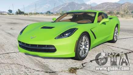 Chevrolet Corvette Stingray (C7) 2013 for GTA 5