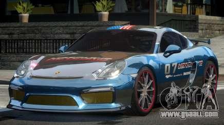 Porsche Cayman GT4 Drift L9 for GTA 4