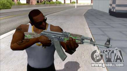 CSGO AK-47 Emerald Pinstripe for GTA San Andreas