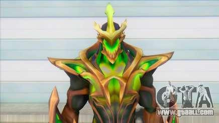 Galaxy Slayer Zed Emerald for GTA San Andreas
