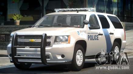 Chevrolet Tahoe GMT900 2007 Homeland Security for GTA 4