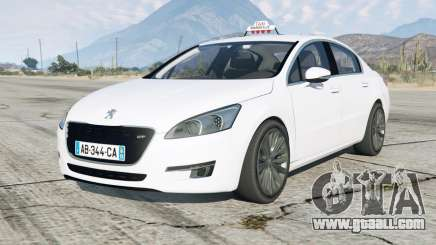Peugeot 508 GT Taxi Marseille for GTA 5