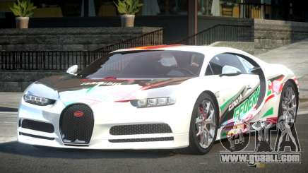 Bugatti Chiron ES L1 for GTA 4