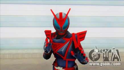 Kamen Rider Delta Ryuko for GTA San Andreas