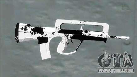 White Dirt (m4) for GTA San Andreas