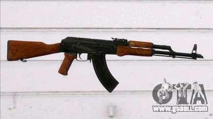COD MW Remastered AK-47 (HQ) for GTA San Andreas