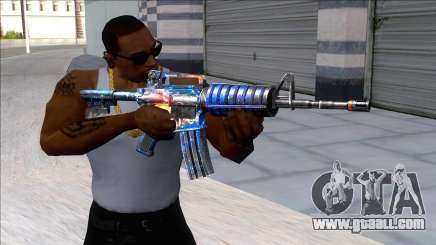 M4A1 Assault Rifle Skin 5 for GTA San Andreas