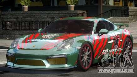 Porsche Cayman GT4 Drift L5 for GTA 4