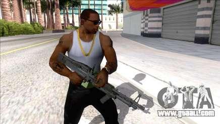 M60E4 Minigun for GTA San Andreas