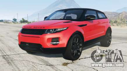 Range Rover Evoque 2012 for GTA 5