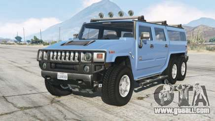 Hummer H2 6ᶍ6 for GTA 5
