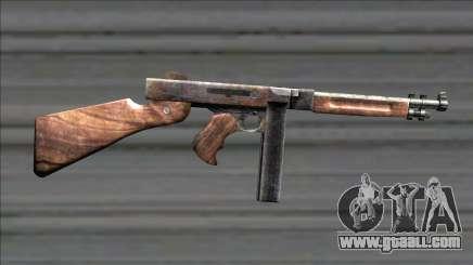 Resident Evil 4 chicago typewriter for GTA San Andreas