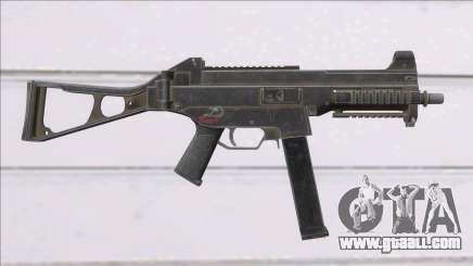 Fear the Wolves UMP-45 for GTA San Andreas