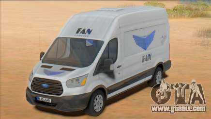 2020 Ford Transit - Fan Courier for GTA San Andreas