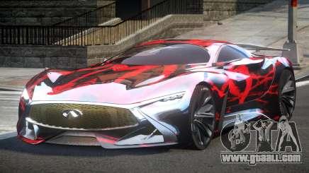 Infiniti Vision GT SC L5 for GTA 4