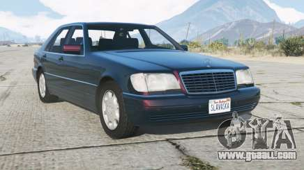 Mercedes-Benz S 600 (W140) 199ろ for GTA 5