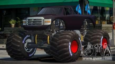 Monster Truck Custom for GTA 4