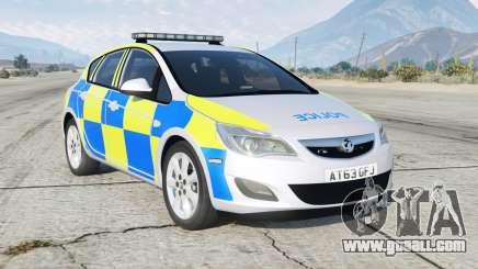 Vauxhall Astra British Police for GTA 5