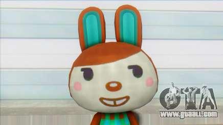 Animal Crossing New Leaf Carmen Skin Mod for GTA San Andreas