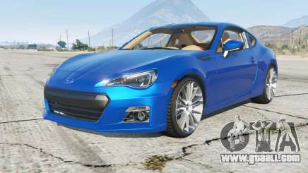 Subaru BRZ (ZC6) 2013 for GTA 5