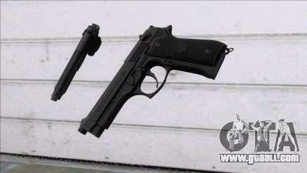 PUBG Beretta P92 for GTA San Andreas