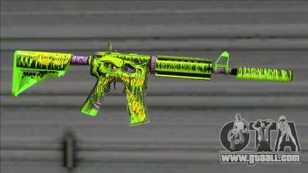 Toxicator Trio M4A1 (Fixed) for GTA San Andreas