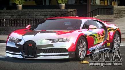 Bugatti Chiron ES L9 for GTA 4