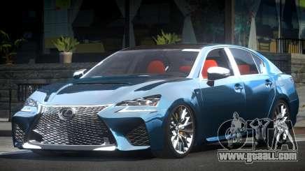 Lexus GSF ES Drift for GTA 4