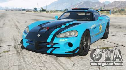Dodge Viper SRT-10 ACR Hot Pursuit Police for GTA 5
