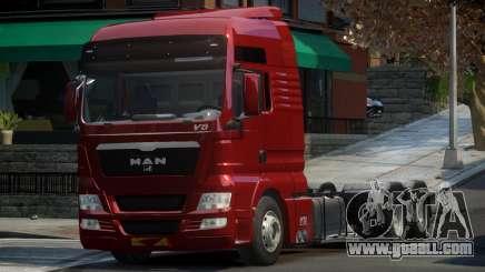 MAN TGX for GTA 4