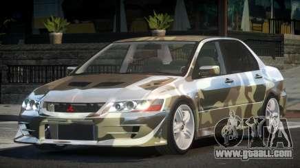 Mitsubishi Lancer VII SP PJ4 for GTA 4