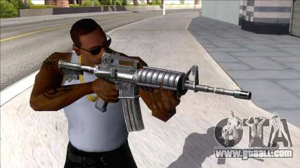 M4A1 Assault Rifle Default for GTA San Andreas