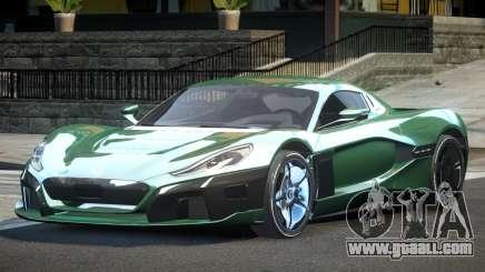 Rimac CTwo GT for GTA 4