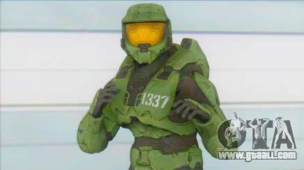 Spartan 1337 of Halo Legends for GTA San Andreas
