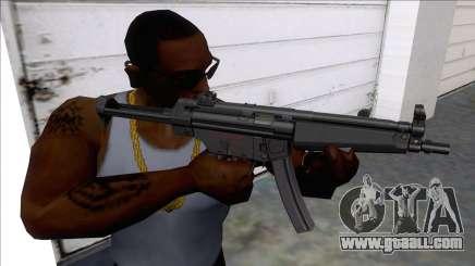 MP5 SMGs for GTA San Andreas