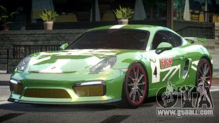 Porsche Cayman GT4 Drift L1 for GTA 4