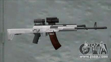 AK-12 White With Scope for GTA San Andreas