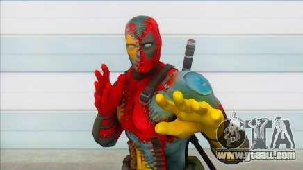 Evil Deadpool Marvel for GTA San Andreas