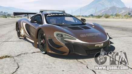 McLaren 650S GT3 Pursuit Edition for GTA 5