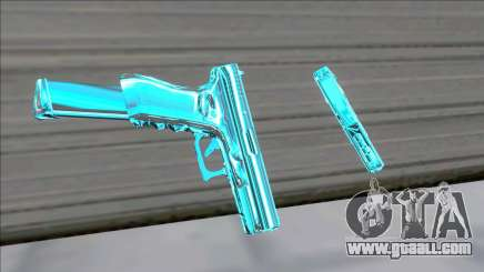 Weapons Pack Blue Evolution (colt45) for GTA San Andreas