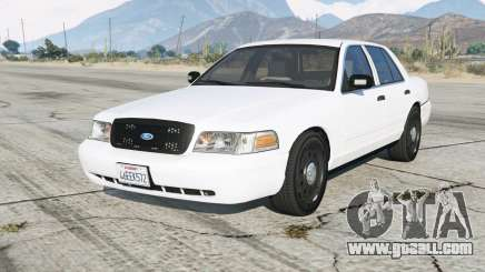 Ford Crown Victoria Undercover for GTA 5