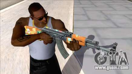 CSGO AK-47 Jet Set for GTA San Andreas