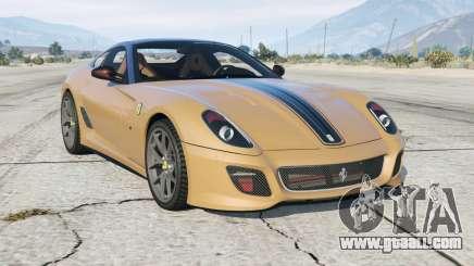 Ferrari 599 GTO 2010 for GTA 5