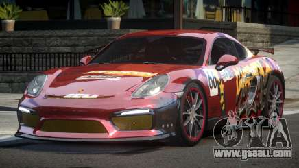 Porsche Cayman GT4 Drift L3 for GTA 4
