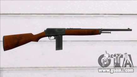 Screaming Steel Winchester M1907 for GTA San Andreas